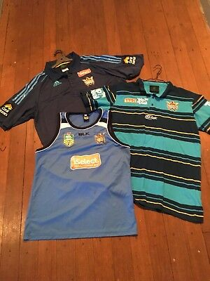 Gold Coast Titans NRL Rugby League Polo Shirts And Training Singlet