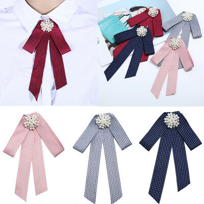 Women Neck Tie Bow Tie Professional Uniform Neckties Female Colleague Bank Staff