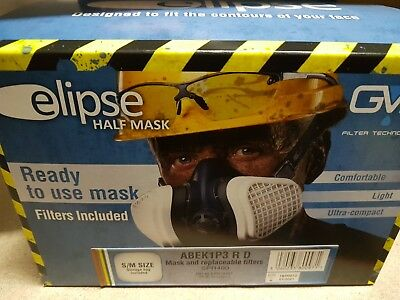Elipse Half mask with filters