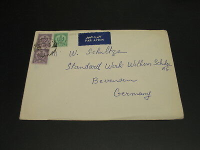 Libya 1960s? Airmail cover to Germany *2808