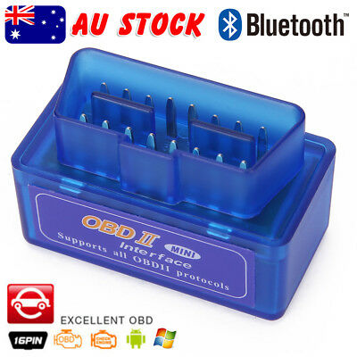 OZ Bluetooth ELM327 OBDII OBD2 Car Scanner Torque Android CAN BUS Auto Scan Tool