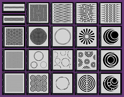 Stencils - Circles - Collection One