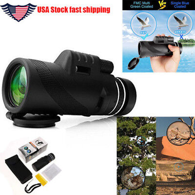 High Power 40X60 HD Monocular Telescope Shimmer lll Night Vision Outdoor Hiking