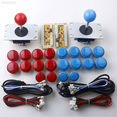 A0B6 DIY USB Controller Joystick w/Push Buttons Cable For Arcade Game Machine