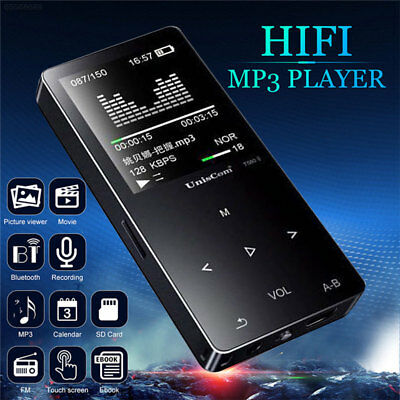 A306 3.5mm Bluetooth 16 GB TF Card LCD Screen Mp4 Player Game Sport Music