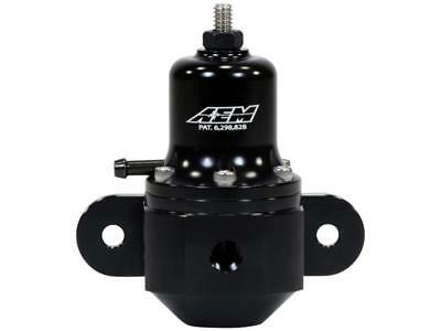 AEM High Cap Universal Adjustable Fuel Pressure Regulator 25-305BK