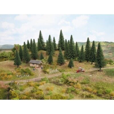 NOCH - 32920 Model Fir Trees, 10 pieces, 3.5 9 cm high N,Z