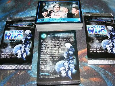 Dr DOCTOR WHO Definitive Collection Series TWO 2 base set of 120 Trading Cards