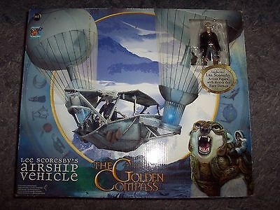 THE GOLDEN COMPASS LEE SCORESBYS AIRSHIP VEHICLE /& FIGURE BRAND NEW STOCK ^**^