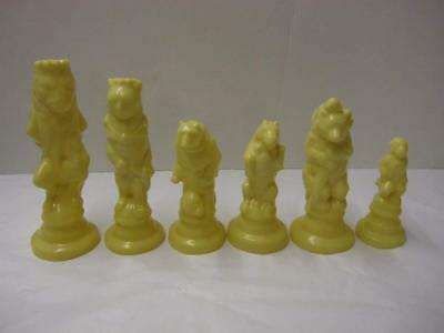 MOULDS ONLY Make Your Own Chess Sets With These 9 X Supercast Reynard The Fox