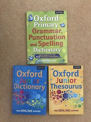 Oxford Junior Dictionary & Thesaurus Bundle by Oxford Dictionaries