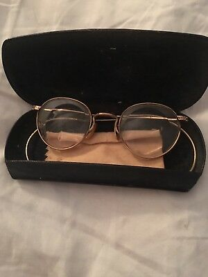 Vintage antique old glasses eyeglasses spectacles