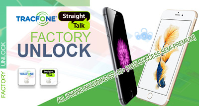 Tracfone / StraightTalk USA - iPhone Models 5/6/7/US Reseller Flex policy unlock