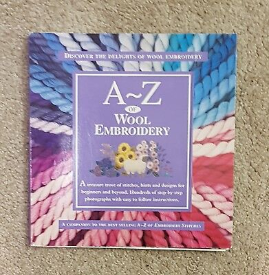 A-Z of WOOL EMBROIDERY -  by Country Bumpkin Step by Step Guide