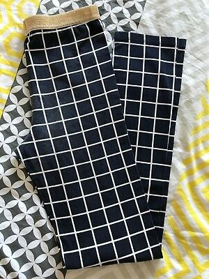 Girls Country Road Navy square Leggings size 12