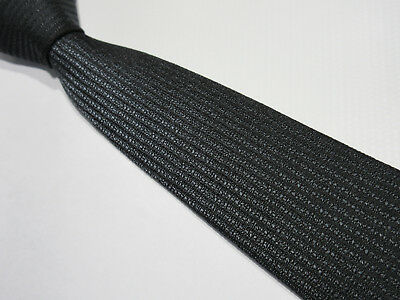 Vintage Grey Bias By Consulate 3 Inch Polyester Neck Tie