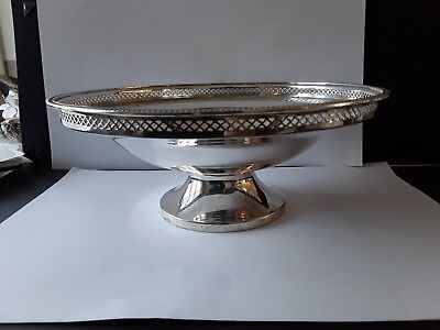 Silver Centre Dish/Fruit Bowl   Walker &Hall  1924