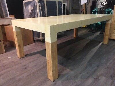 Designer Dining Table - Bone And Bamboo