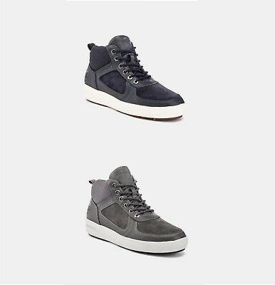 Lumberjack Sneakers Uomo Chuck Sm51605-001 V14 Pelle+Scamosciato Casual Sport