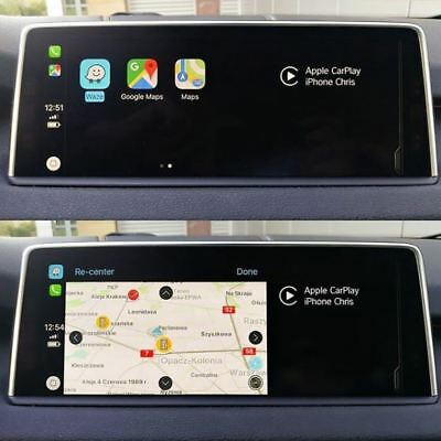 BMW/Mini Apple Carplay/Mirroring + LifeTime maps + Video in motion USB Plug&Play