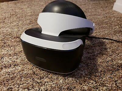Sony PlayStation VR Headset used in perfect condition