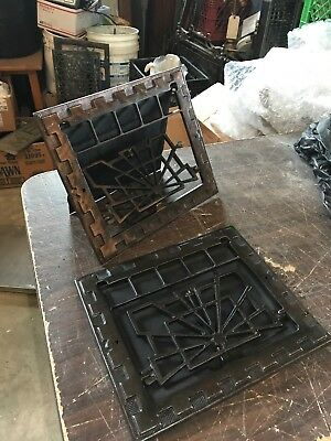 A 18 2 Avail Price Separate Antique Deco Wall Mount Heating Grate 11.75 x 13.75