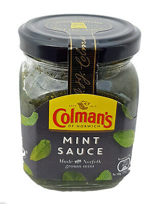 ANGEBOT* Colman's of Norwich Mint Sauce, Made with Norfolk Grown Mint, 165g