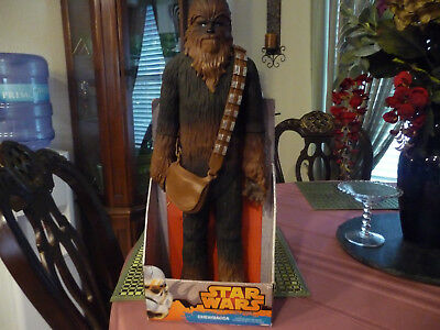 Star Wars Chewbacca 20 Inch Figure by Jakks Pacific still in box made 2014