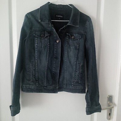 VESTE EN JEANS Stone Washed -ZARA TRF- Made in Italy T38 Style ... 13f377e2e09