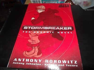 Stormbreaker: The Graphic Novel by Anthony Horowitz (Paperback, 2006)