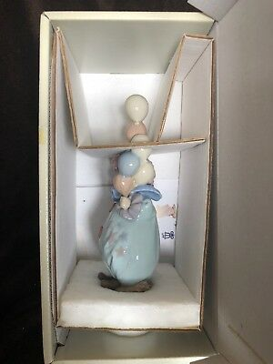 "Adorable 1990 LLADRO Hand Made Daisa ""Little Clown With Balloons"" #5811 L1"
