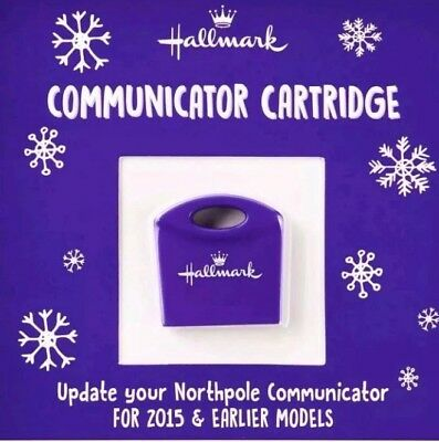 2018 Hallmark North Pole Communicator Cartridge Refill ~ NEW 2018 Messages ~