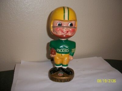 Vintage Green Bay Packers Bobblehead