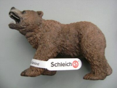 FREE SHIPPING | Schleich Male Grizzly Bear Toy Figurine