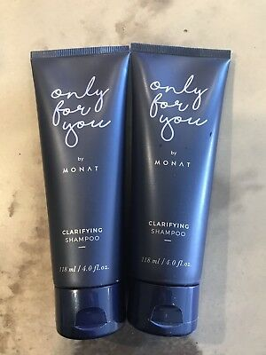 Monat Only For You Clarifying Shampoo 4 oz 2 BOTTLES
