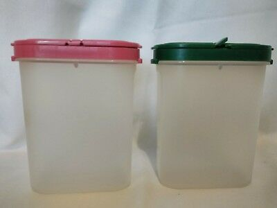 Tupperware Modular Mates Spice containers lot of 2