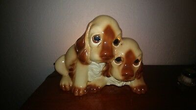 Vintage Double Dog  Night Lamp