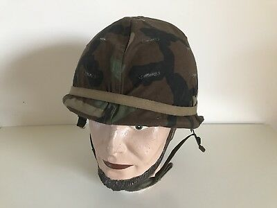 USA Casque US M1 Model 1973 - US HELMET with camouflage