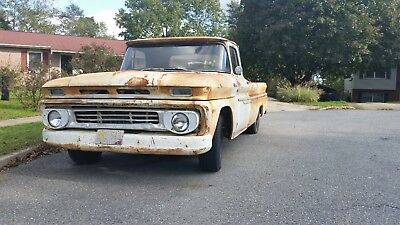 1962 Chevrolet C-10  1962 Chevrolet C10 pickup truck long bed Chevy