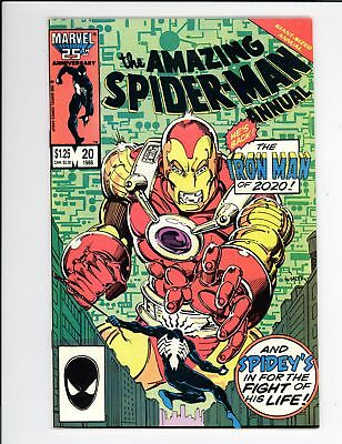 Amazing Spider-Man Annual (1964) #20 VF/NM 9.0 Iron Man 2020 Appearance