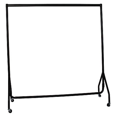 Heavy Duty Black Clothes Rail Garment Clothes Hanging Home Retail Hanging Market
