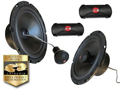 "CDT Audio CL 61CV.2 (2 Ohm version) 6.5"" 2-way component speaker system"