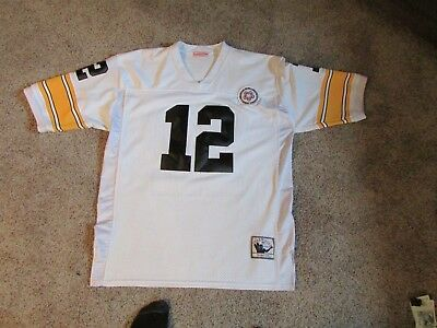 separation shoes c3ba4 efcf6 TERRY BRADSHAW MITCHELL & Ness Pittsburgh Steelers Jersey SZ ...
