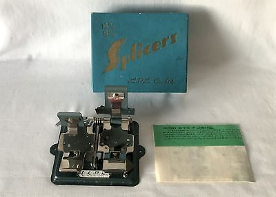 Vintage Boxed LPL Co Ltd SPLICERS for 16mm 8mm Film - Made in Japan