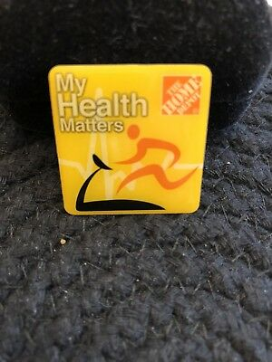Home Depot My Health Matters Pin Figure On Treadmill