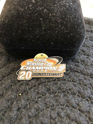 Home Depot Tony Stewart Winston Cup Champion 2002 Commemorative Pin