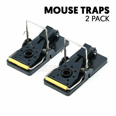 Rat and Mouse Trap Easy Bait Killer Spring Snap Traps Rodent Control Catcher