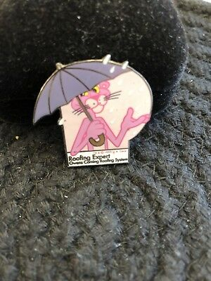 Pink Panther Owens Corning Commemorative Pin