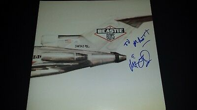 Mike Diamond Signed Autograph Album Auto Authentic Beastie Boys License To Ill