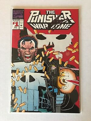 The Punisher: War Zone #1 (Mar 1992, Marvel) signed by Gerry Conway